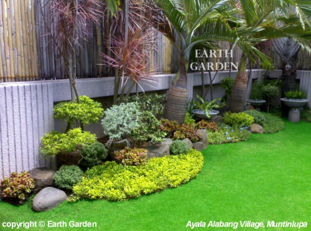 Earth garden landscaping philippines photo gallery for Home garden landscape designs