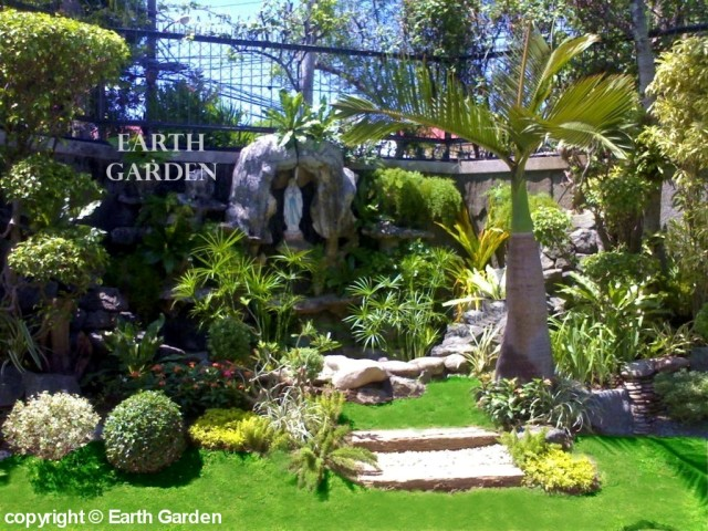 Earth garden landscaping philippines photo gallery for Garden grotto designs