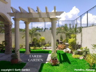 Earth garden landscaping philippines landscape for Pocket garden designs philippines