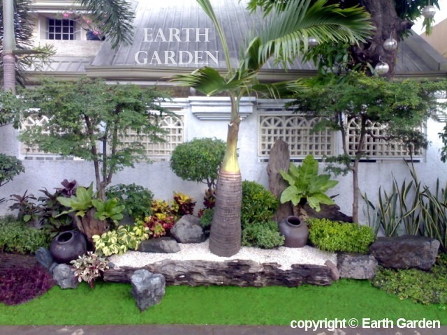 Earth garden landscaping philippines photo gallery tropical gardens - Small space garden design ideas set ...
