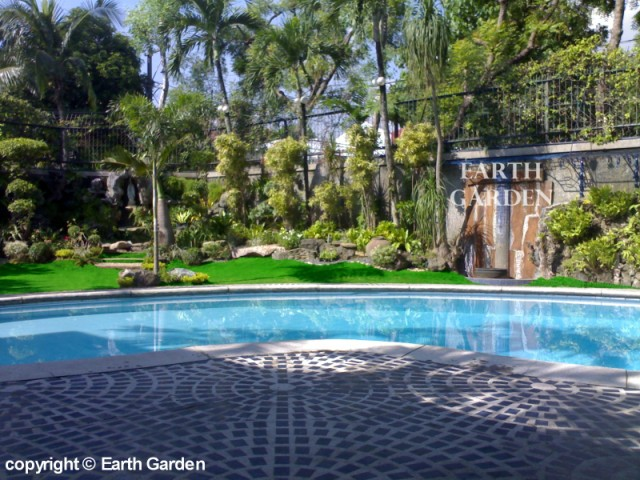 Earth Garden & Landscaping - Philippines | Photo Gallery | Tropical on house landscape malaysia, garden landscape philippines, outdoor landscape philippines, tarlac philippines, tropical houses in the philippines, landscape design philippines,